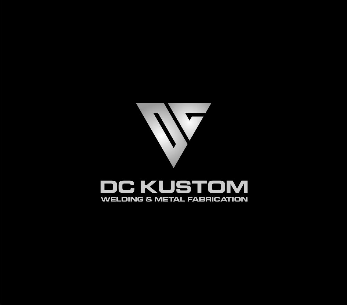 Logo Design by Khoirul Khoirul bejo - Entry No. 93 in the Logo Design Contest Imaginative Logo Design for DC KUSTOM WELDING & METAL FABRICATION.