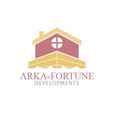 Logo Design by Mbelgedez - Entry No. 78 in the Logo Design Contest Arka-Fortune Developments Logo Design.