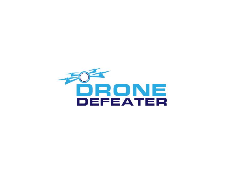 Logo Design by Private User - Entry No. 12 in the Logo Design Contest Artistic Logo Design for Drone Defeater.