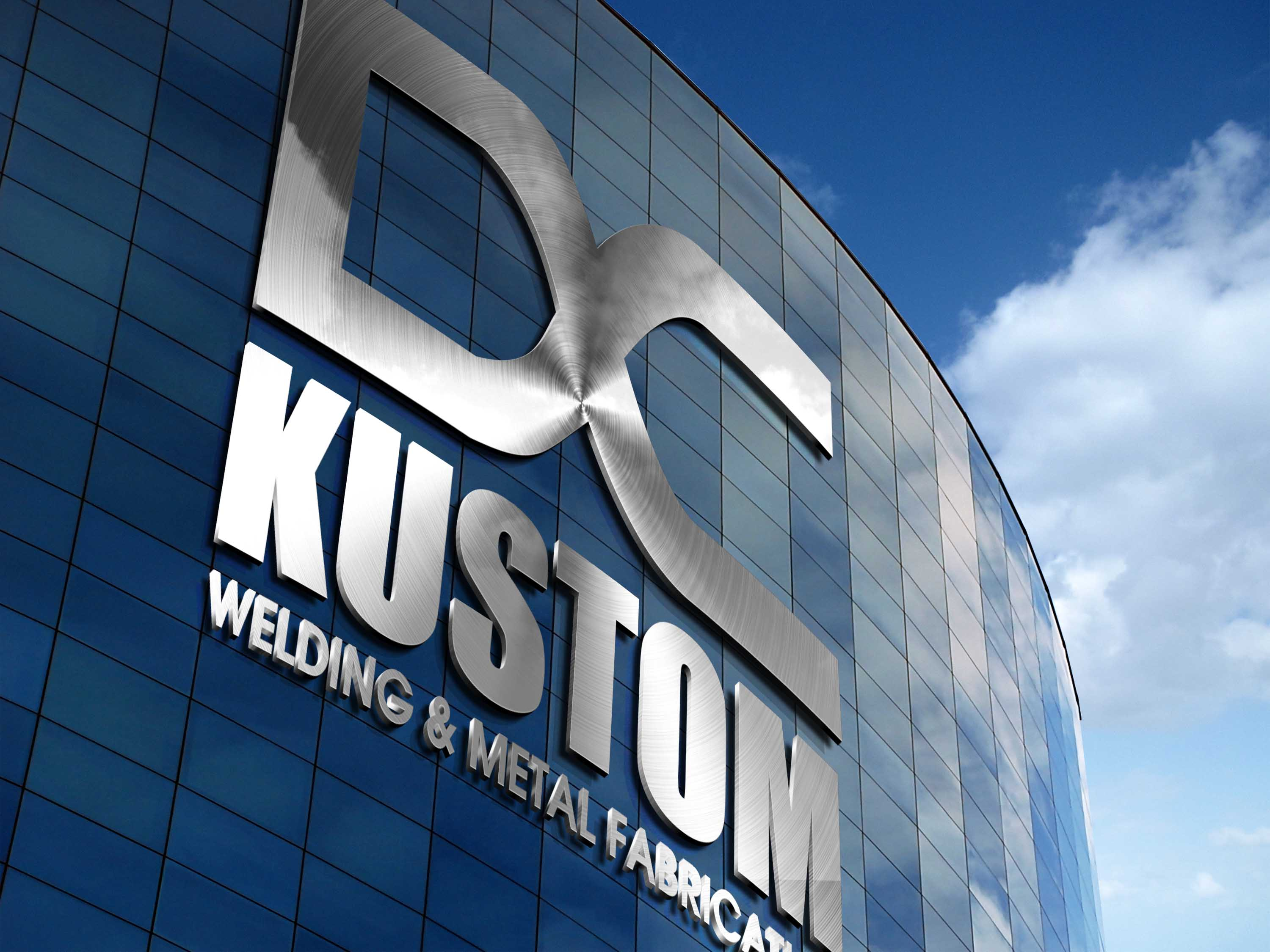 Logo Design by Private User - Entry No. 101 in the Logo Design Contest Imaginative Logo Design for DC KUSTOM WELDING & METAL FABRICATION.