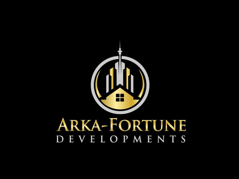 Logo Design by Private User - Entry No. 81 in the Logo Design Contest Arka-Fortune Developments Logo Design.
