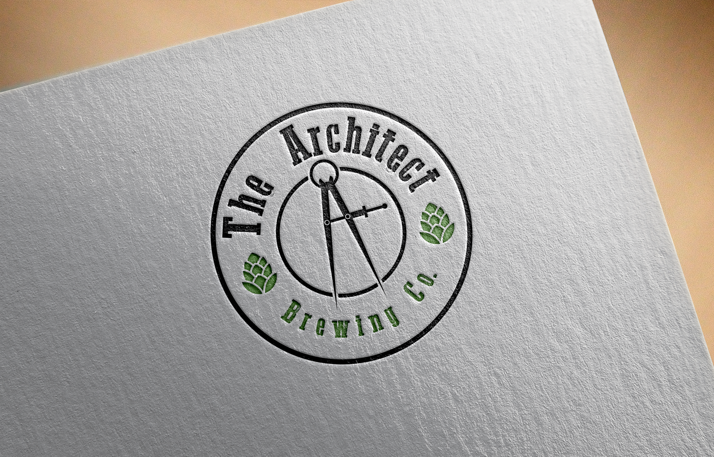 Logo Design by Net Bih - Entry No. 52 in the Logo Design Contest Captivating Logo Design for The Architect Brewing Co..