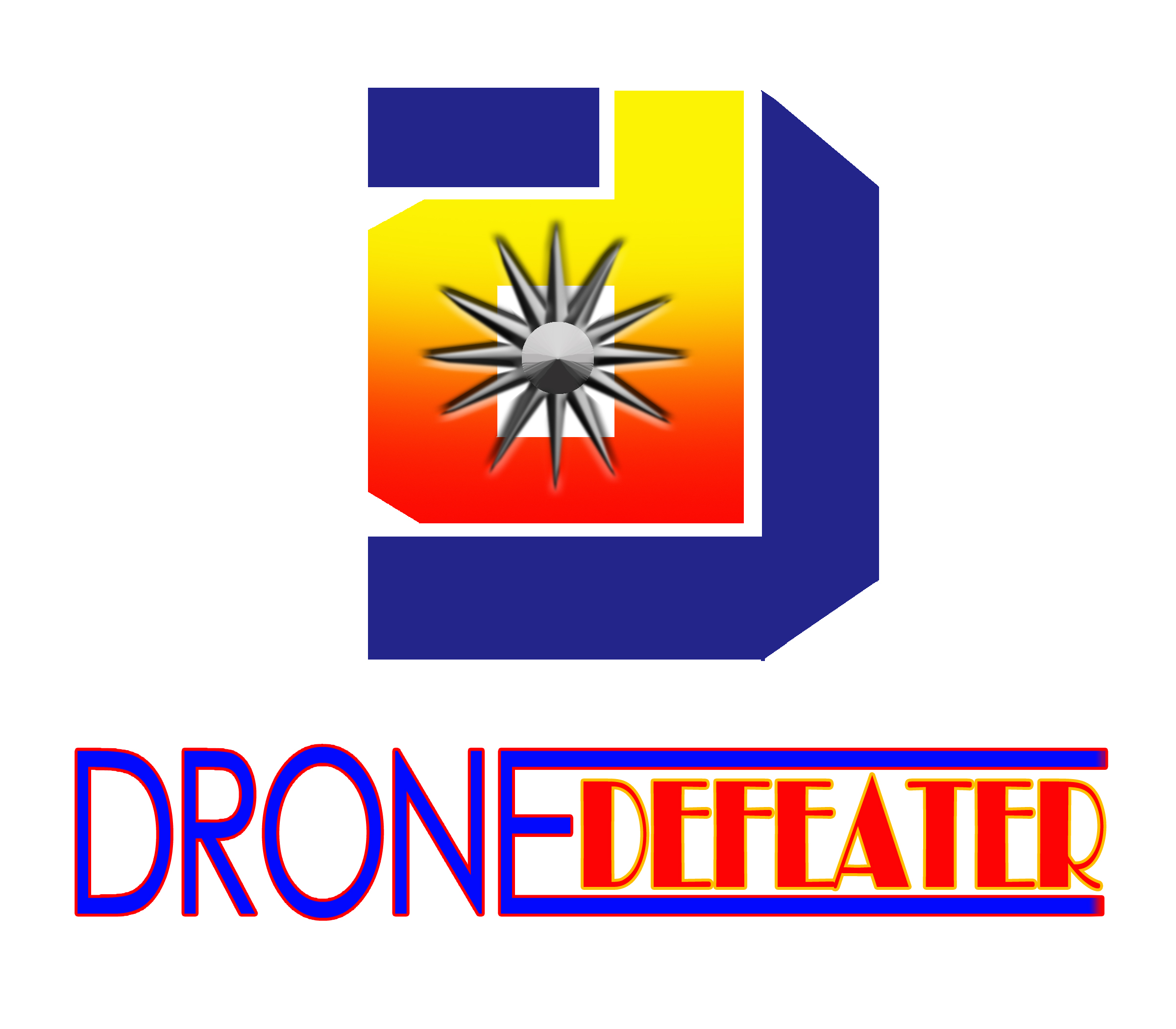 Logo Design by Kitz Malinao - Entry No. 14 in the Logo Design Contest Artistic Logo Design for Drone Defeater.
