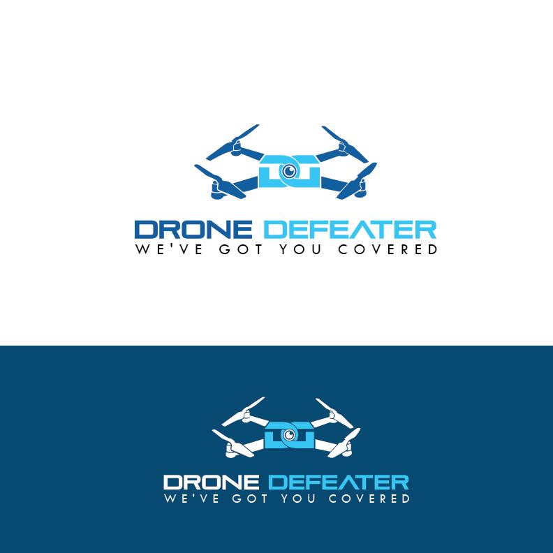 Logo Design by Private User - Entry No. 15 in the Logo Design Contest Artistic Logo Design for Drone Defeater.