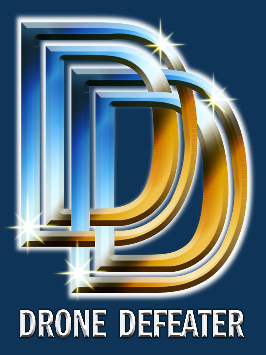 Logo Design by Kitz Malinao - Entry No. 16 in the Logo Design Contest Artistic Logo Design for Drone Defeater.