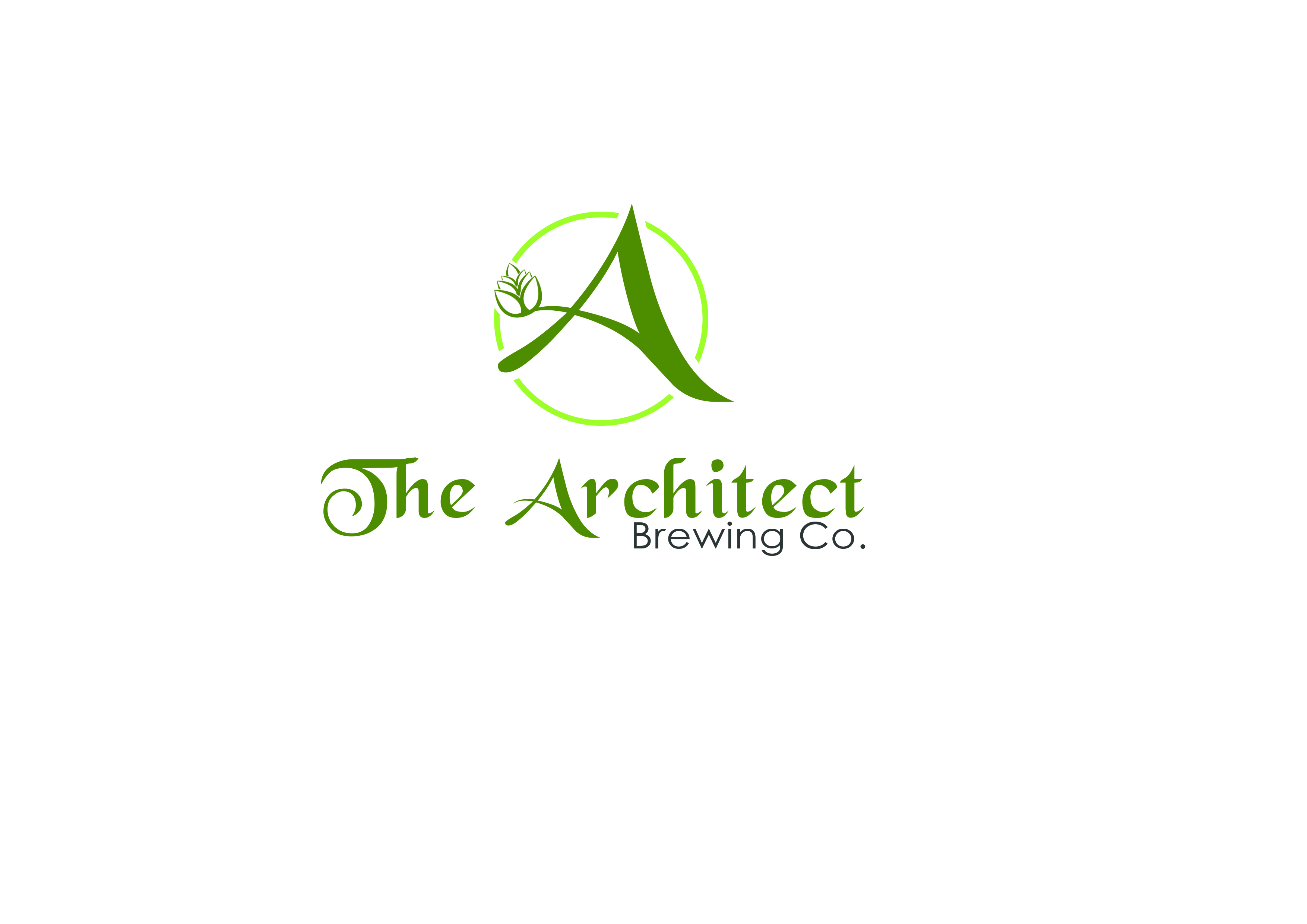 Logo Design by Jesther Jordan Minor - Entry No. 63 in the Logo Design Contest Captivating Logo Design for The Architect Brewing Co..