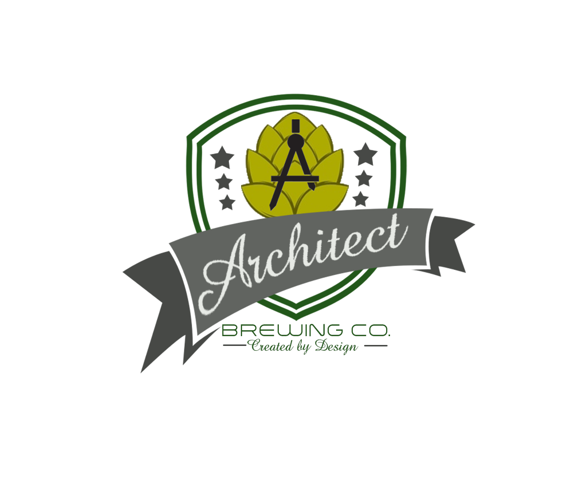 Logo Design by John Melvie Sulla - Entry No. 64 in the Logo Design Contest Captivating Logo Design for The Architect Brewing Co..
