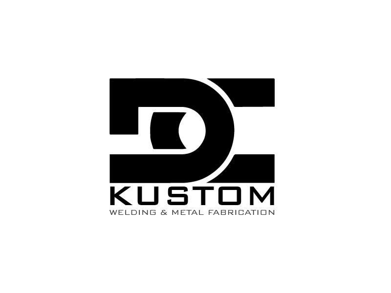 Logo Design by brands_in - Entry No. 108 in the Logo Design Contest Imaginative Logo Design for DC KUSTOM WELDING & METAL FABRICATION.