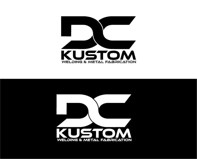Logo Design by brands_in - Entry No. 109 in the Logo Design Contest Imaginative Logo Design for DC KUSTOM WELDING & METAL FABRICATION.