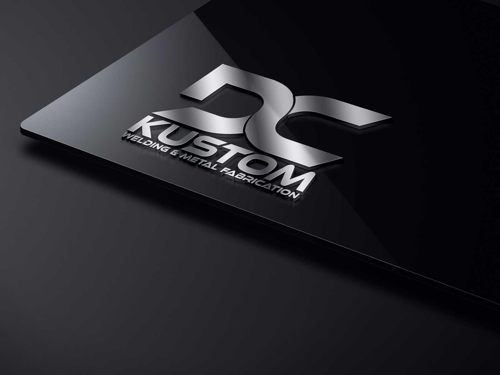 Logo Design by brands_in - Entry No. 110 in the Logo Design Contest Imaginative Logo Design for DC KUSTOM WELDING & METAL FABRICATION.