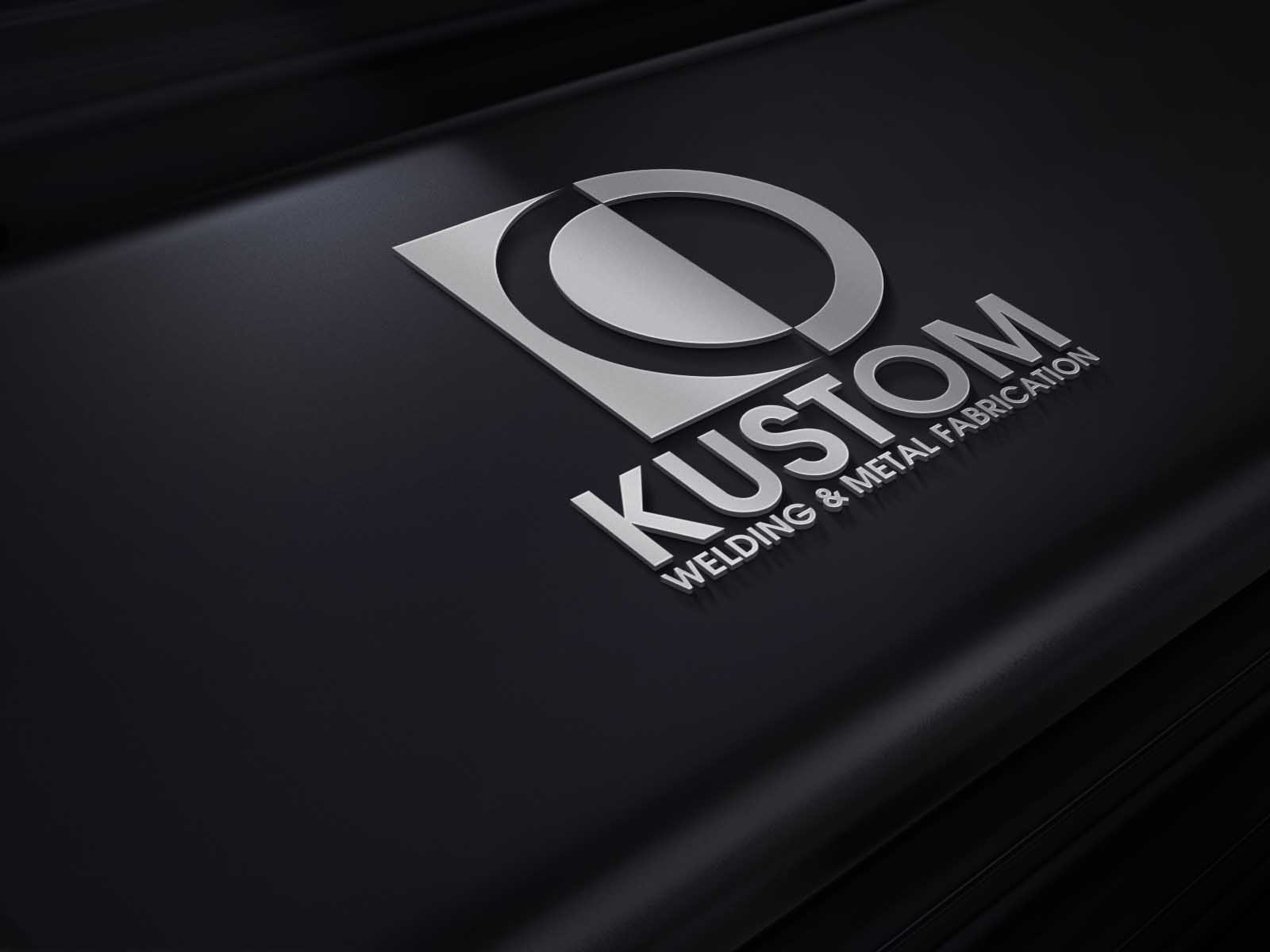 Logo Design by Private User - Entry No. 113 in the Logo Design Contest Imaginative Logo Design for DC KUSTOM WELDING & METAL FABRICATION.