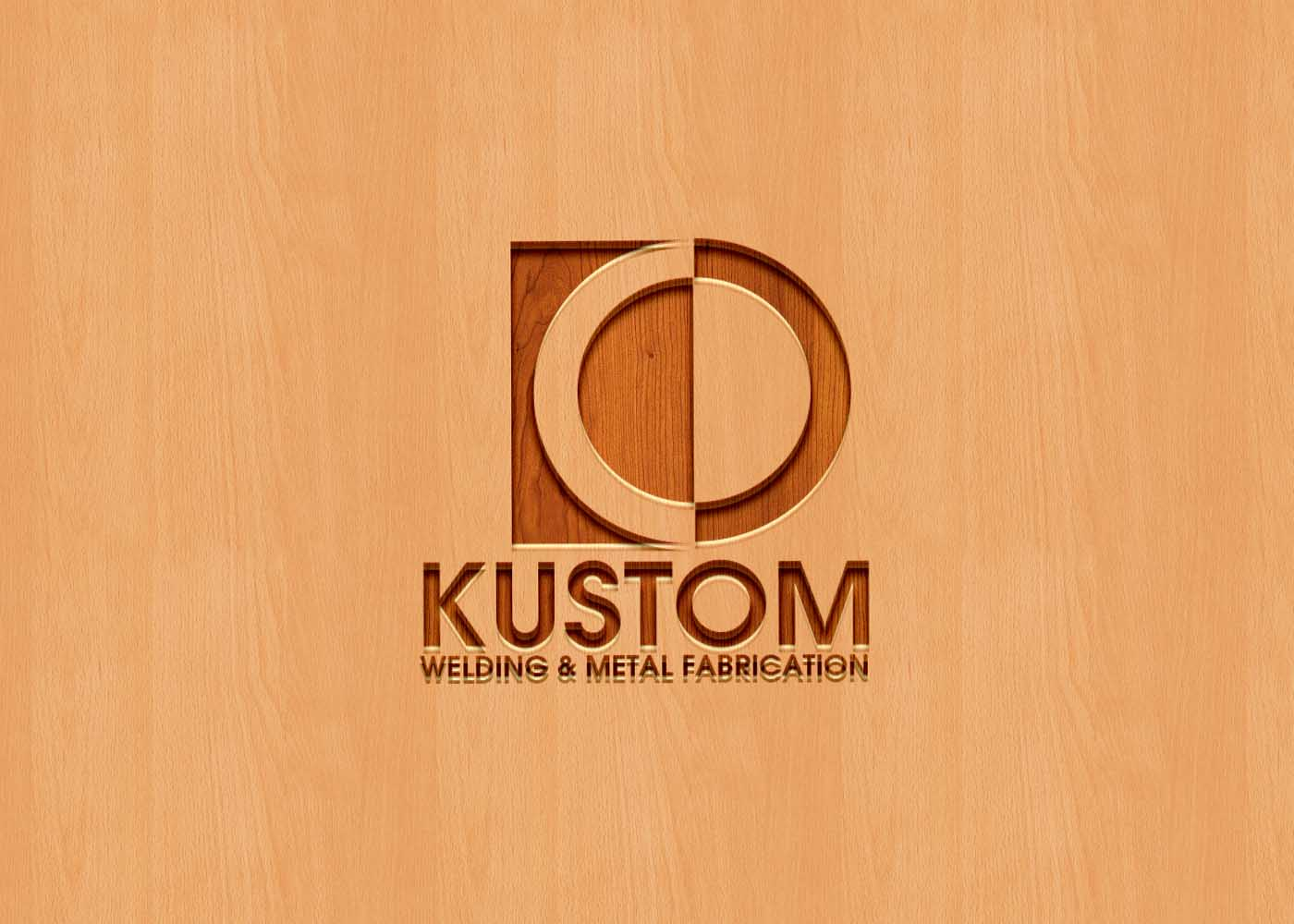 Logo Design by Private User - Entry No. 114 in the Logo Design Contest Imaginative Logo Design for DC KUSTOM WELDING & METAL FABRICATION.