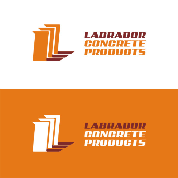 Logo Design by Private User - Entry No. 91 in the Logo Design Contest Logo for Labrador Concrete Products.