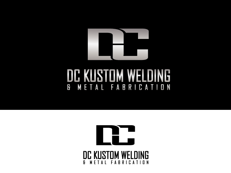 Logo Design by Private User - Entry No. 116 in the Logo Design Contest Imaginative Logo Design for DC KUSTOM WELDING & METAL FABRICATION.
