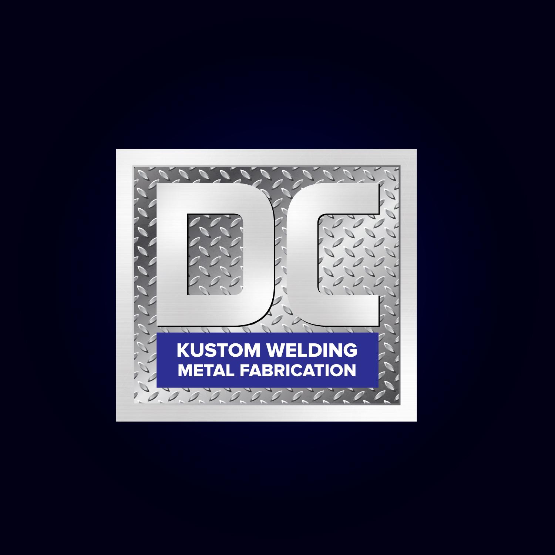 Logo Design by Bac Huu - Entry No. 117 in the Logo Design Contest Imaginative Logo Design for DC KUSTOM WELDING & METAL FABRICATION.