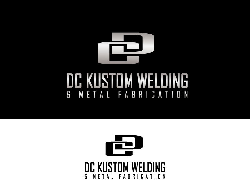 Logo Design by Private User - Entry No. 119 in the Logo Design Contest Imaginative Logo Design for DC KUSTOM WELDING & METAL FABRICATION.