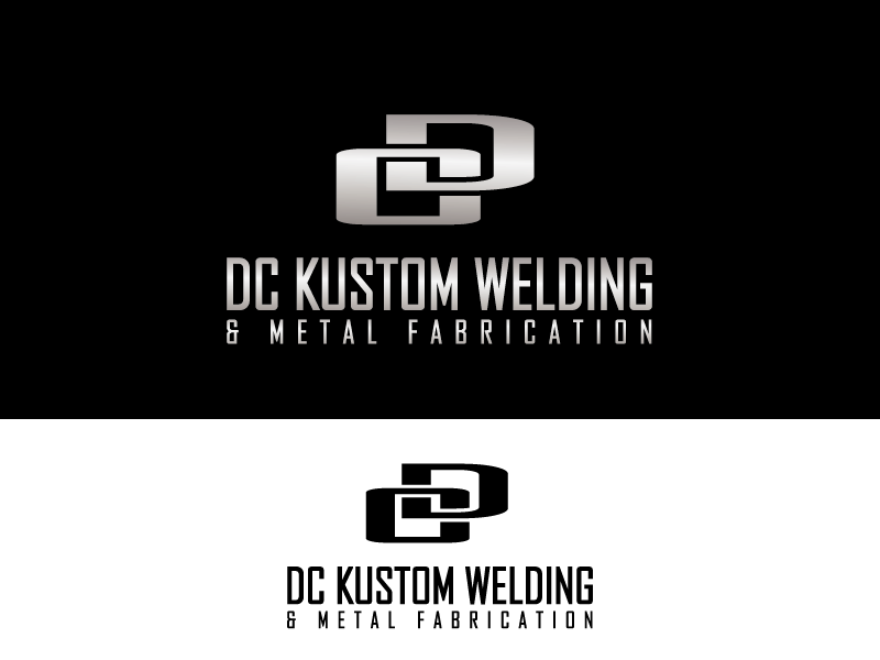 Logo Design by Private User - Entry No. 120 in the Logo Design Contest Imaginative Logo Design for DC KUSTOM WELDING & METAL FABRICATION.