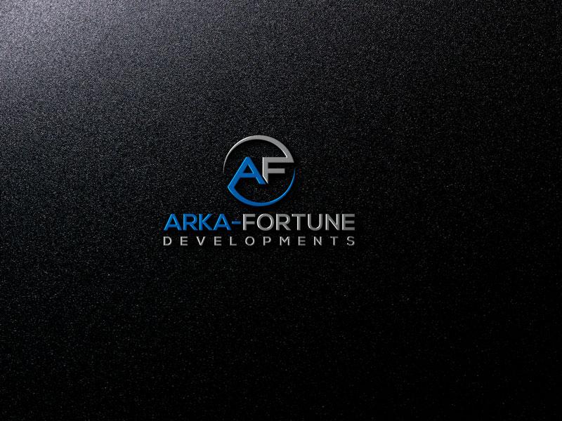 Logo Design by Private User - Entry No. 95 in the Logo Design Contest Arka-Fortune Developments Logo Design.