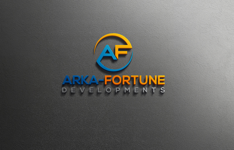Logo Design by Private User - Entry No. 97 in the Logo Design Contest Arka-Fortune Developments Logo Design.