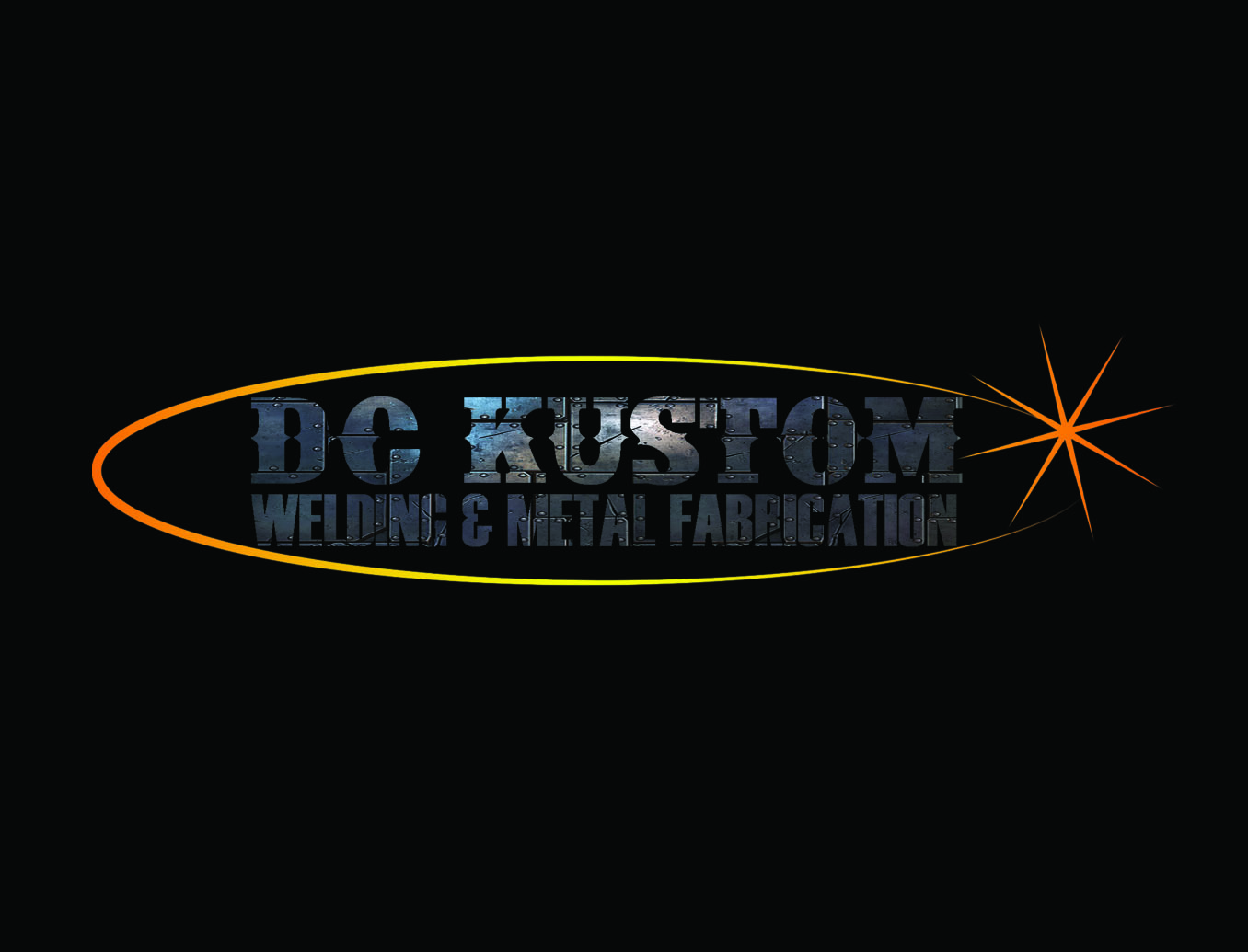 Logo Design by Arqui ACOSTA - Entry No. 121 in the Logo Design Contest Imaginative Logo Design for DC KUSTOM WELDING & METAL FABRICATION.
