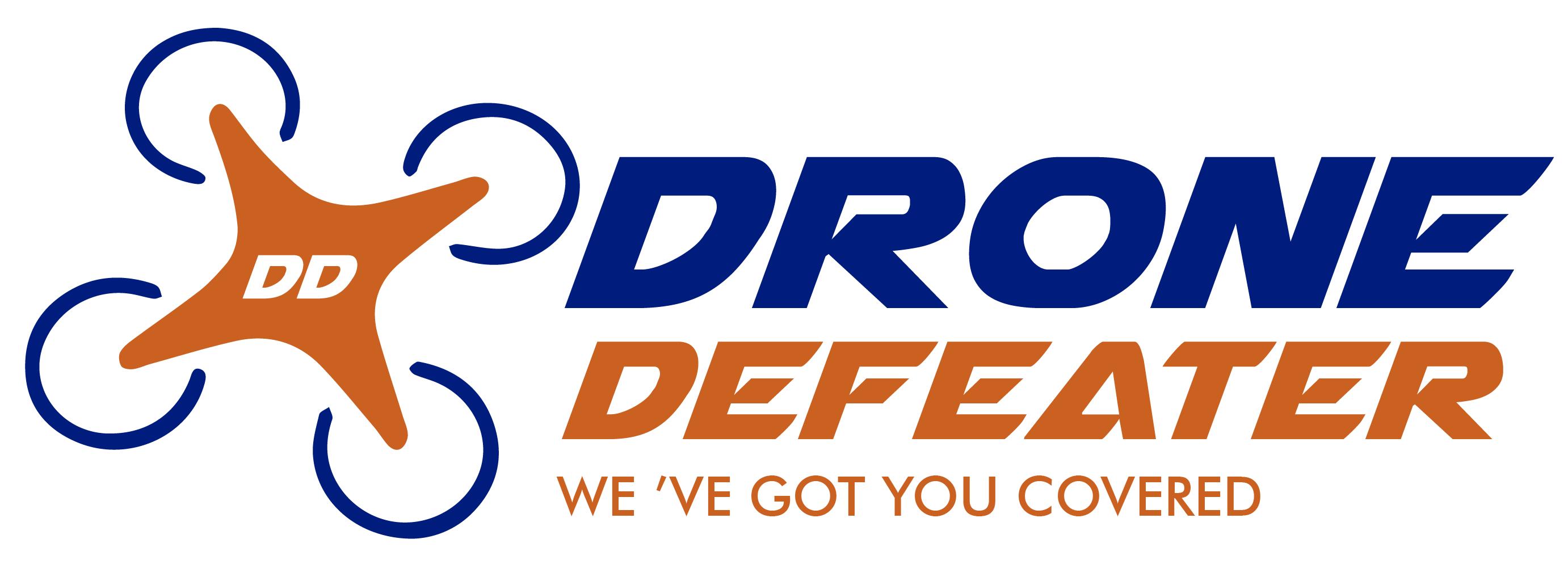 Logo Design by Alexander Guzman - Entry No. 20 in the Logo Design Contest Artistic Logo Design for Drone Defeater.