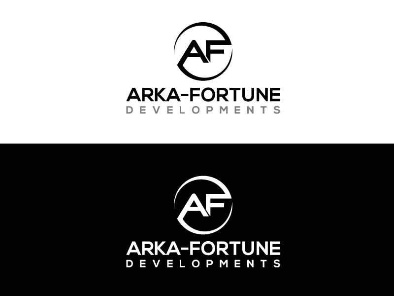 Logo Design by Private User - Entry No. 101 in the Logo Design Contest Arka-Fortune Developments Logo Design.