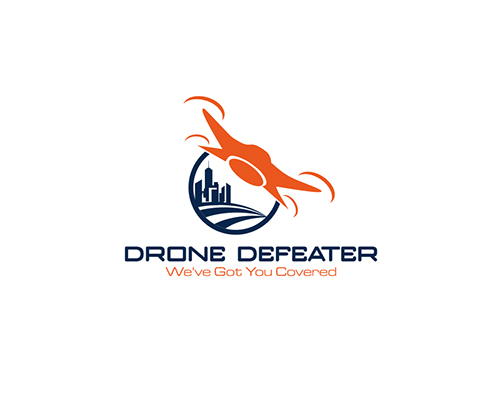 Logo Design by Ifan Afandie - Entry No. 21 in the Logo Design Contest Artistic Logo Design for Drone Defeater.