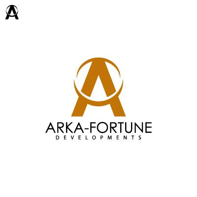 Logo Design by Mbelgedez - Entry No. 104 in the Logo Design Contest Arka-Fortune Developments Logo Design.