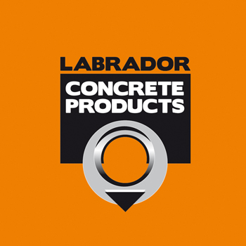 Logo Design by DINOO45 - Entry No. 92 in the Logo Design Contest Logo for Labrador Concrete Products.