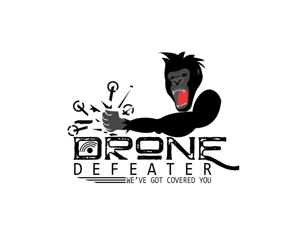 Logo Design by John Melvie Sulla - Entry No. 28 in the Logo Design Contest Artistic Logo Design for Drone Defeater.
