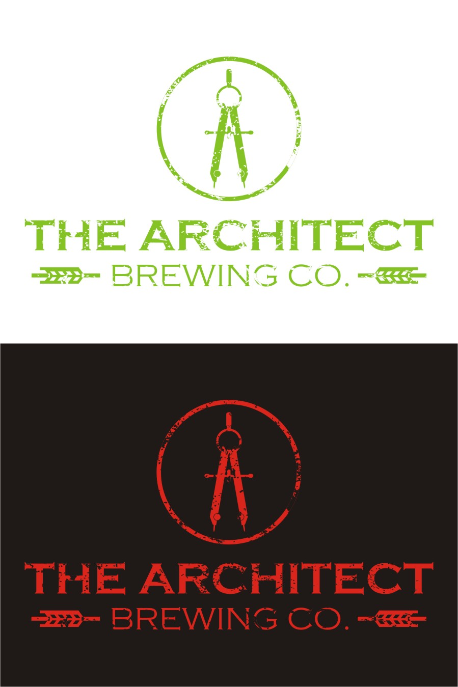 Logo Design by Spider Graphics - Entry No. 77 in the Logo Design Contest Captivating Logo Design for The Architect Brewing Co..