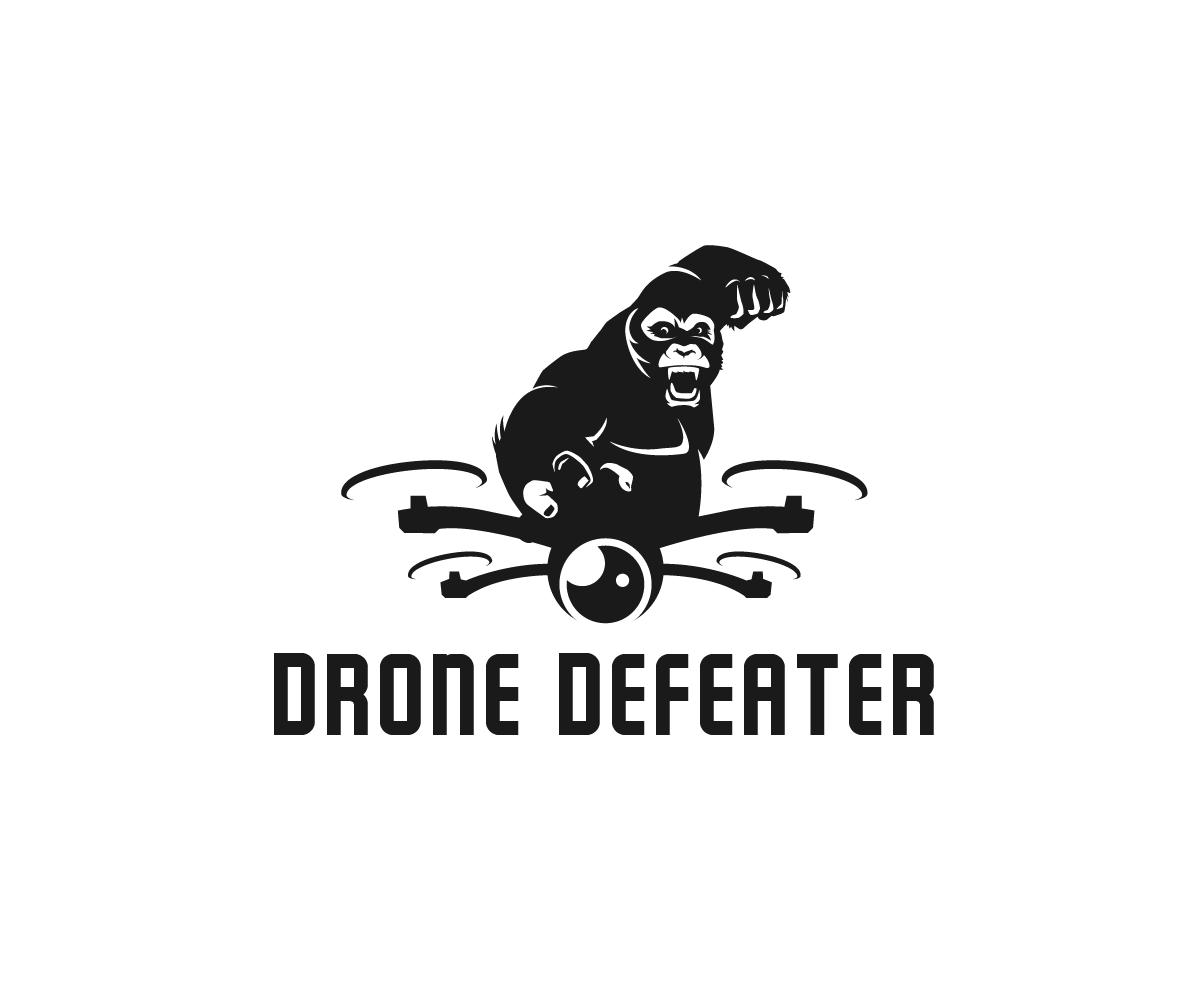 Logo Design by Juan Luna - Entry No. 30 in the Logo Design Contest Artistic Logo Design for Drone Defeater.