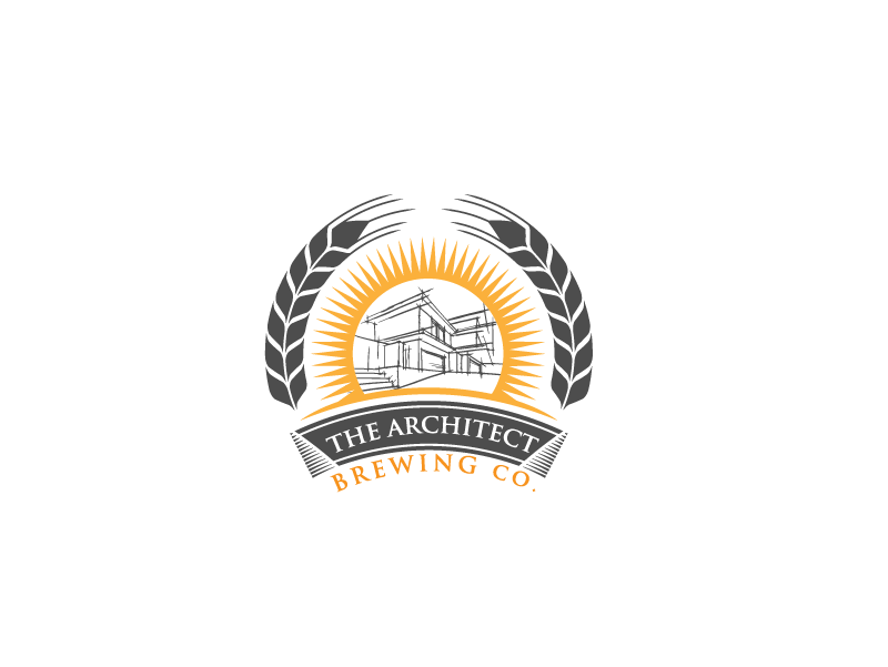 Logo Design by Private User - Entry No. 79 in the Logo Design Contest Captivating Logo Design for The Architect Brewing Co..