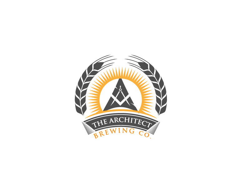Logo Design by Private User - Entry No. 80 in the Logo Design Contest Captivating Logo Design for The Architect Brewing Co..