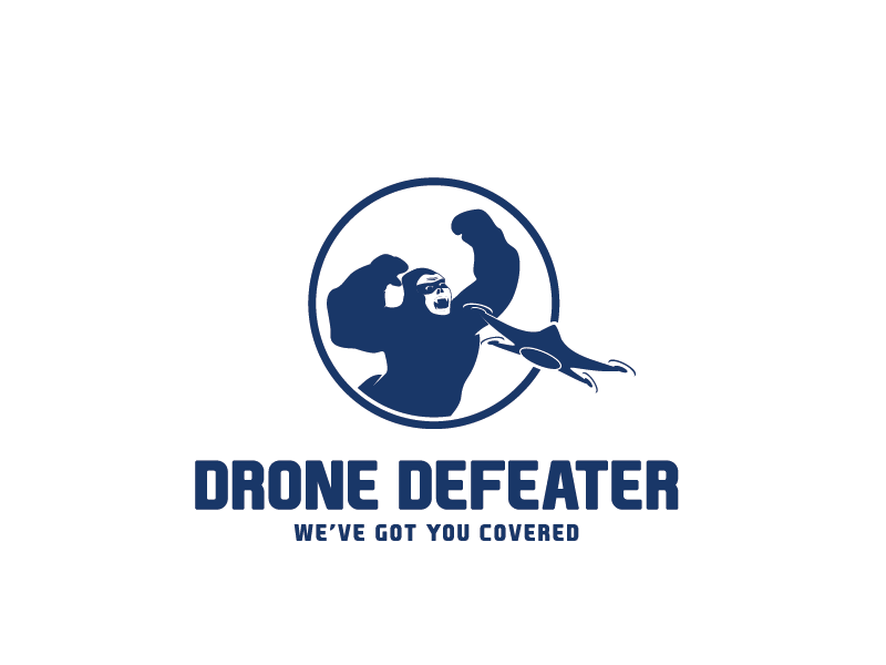 Logo Design by Private User - Entry No. 32 in the Logo Design Contest Artistic Logo Design for Drone Defeater.