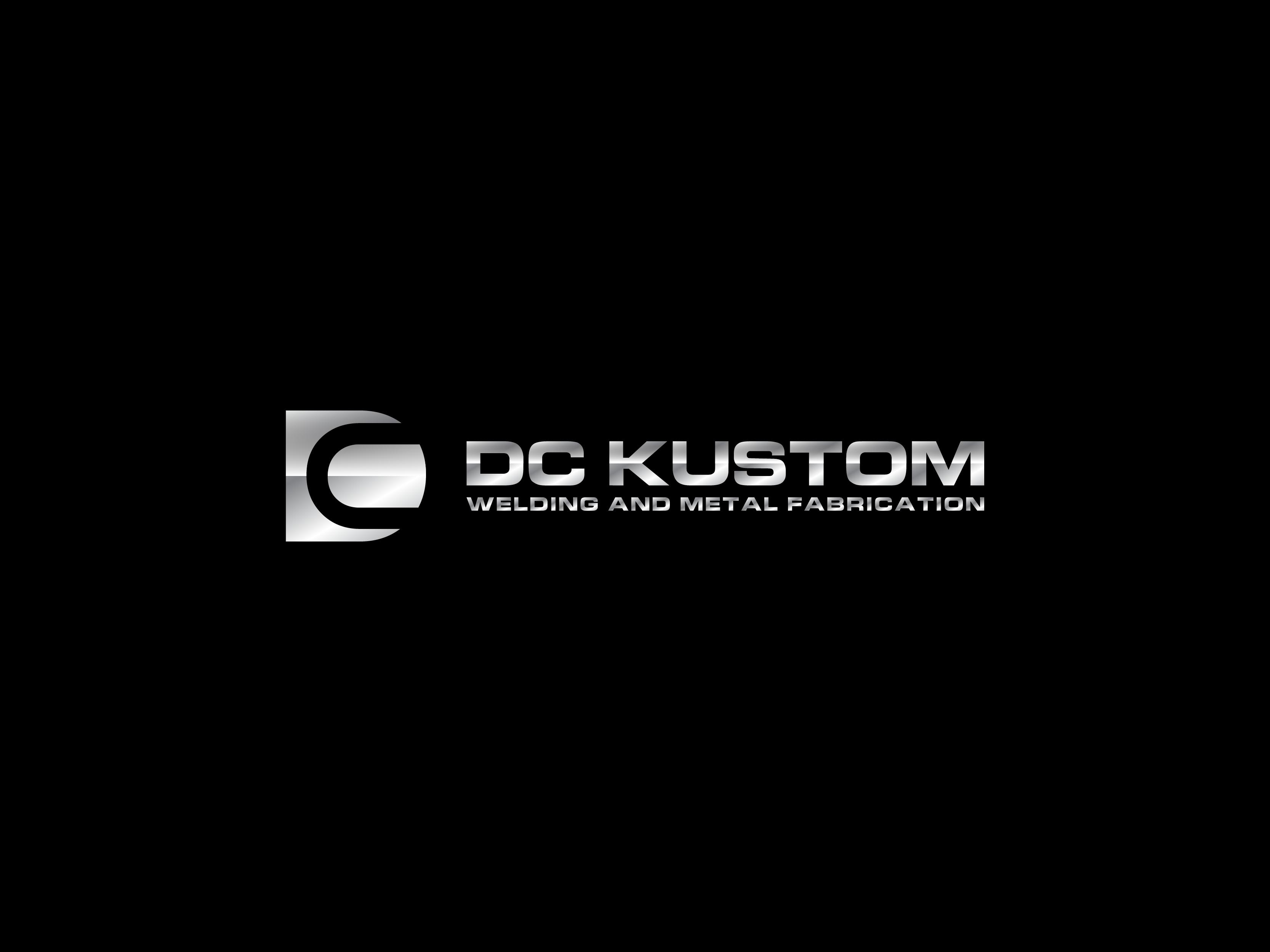 Logo Design by Shivaprasad Sangondimath - Entry No. 137 in the Logo Design Contest Imaginative Logo Design for DC KUSTOM WELDING & METAL FABRICATION.