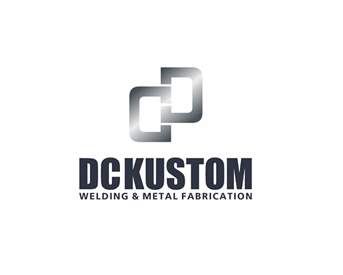 Logo Design by Ifan Afandie - Entry No. 138 in the Logo Design Contest Imaginative Logo Design for DC KUSTOM WELDING & METAL FABRICATION.
