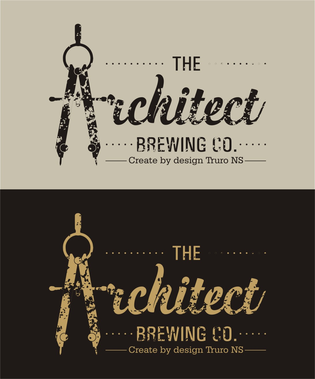Logo Design by Spider Graphics - Entry No. 84 in the Logo Design Contest Captivating Logo Design for The Architect Brewing Co..