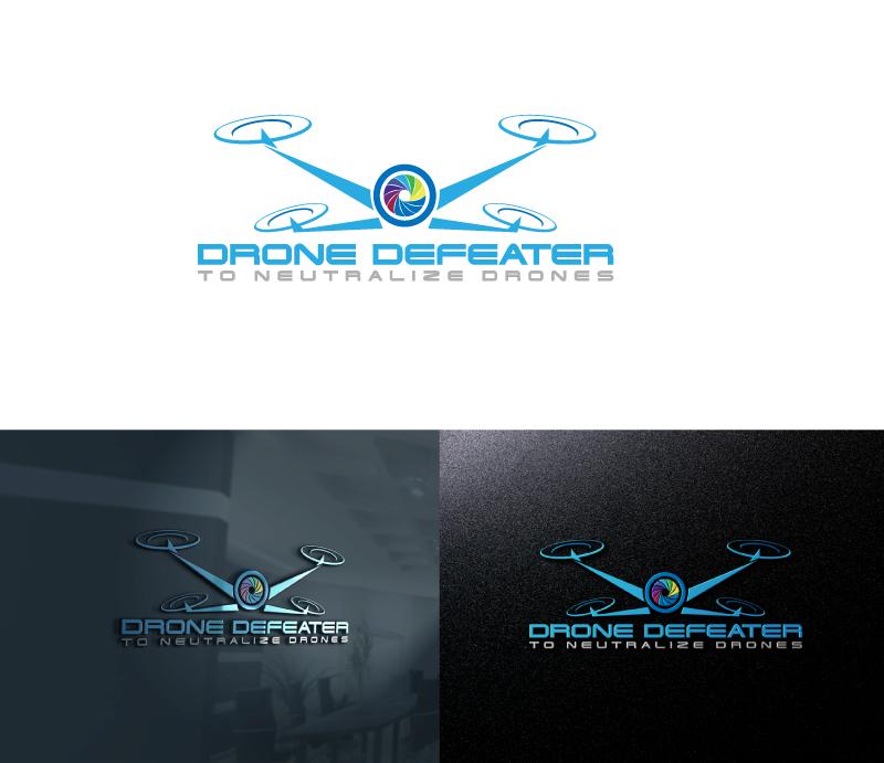 Logo Design by Private User - Entry No. 33 in the Logo Design Contest Artistic Logo Design for Drone Defeater.