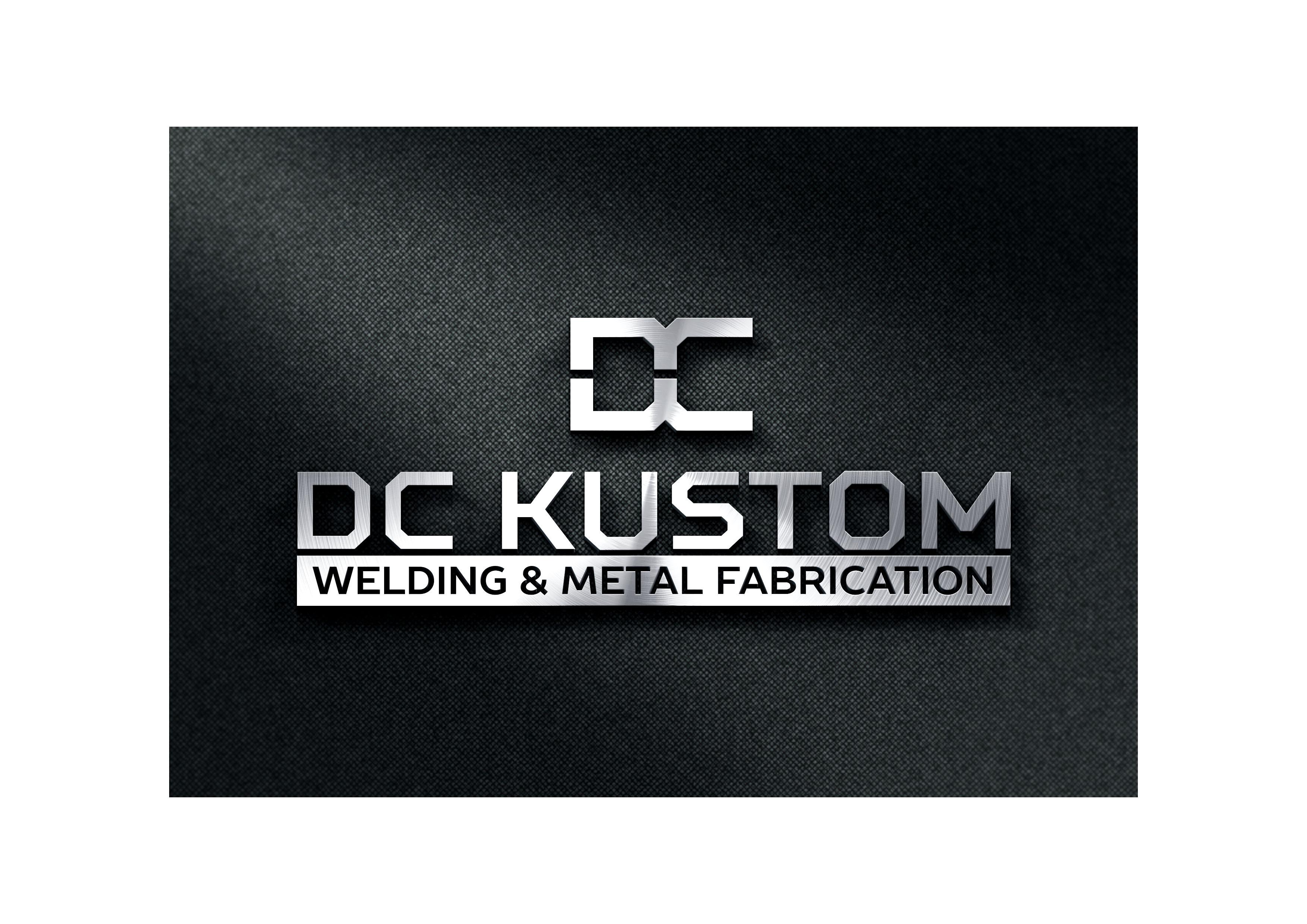 Logo Design by demang - Entry No. 140 in the Logo Design Contest Imaginative Logo Design for DC KUSTOM WELDING & METAL FABRICATION.