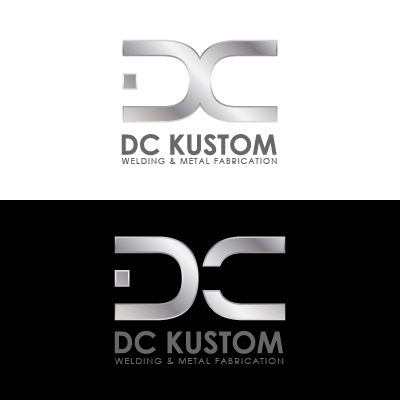 Logo Design by Mbelgedez - Entry No. 142 in the Logo Design Contest Imaginative Logo Design for DC KUSTOM WELDING & METAL FABRICATION.