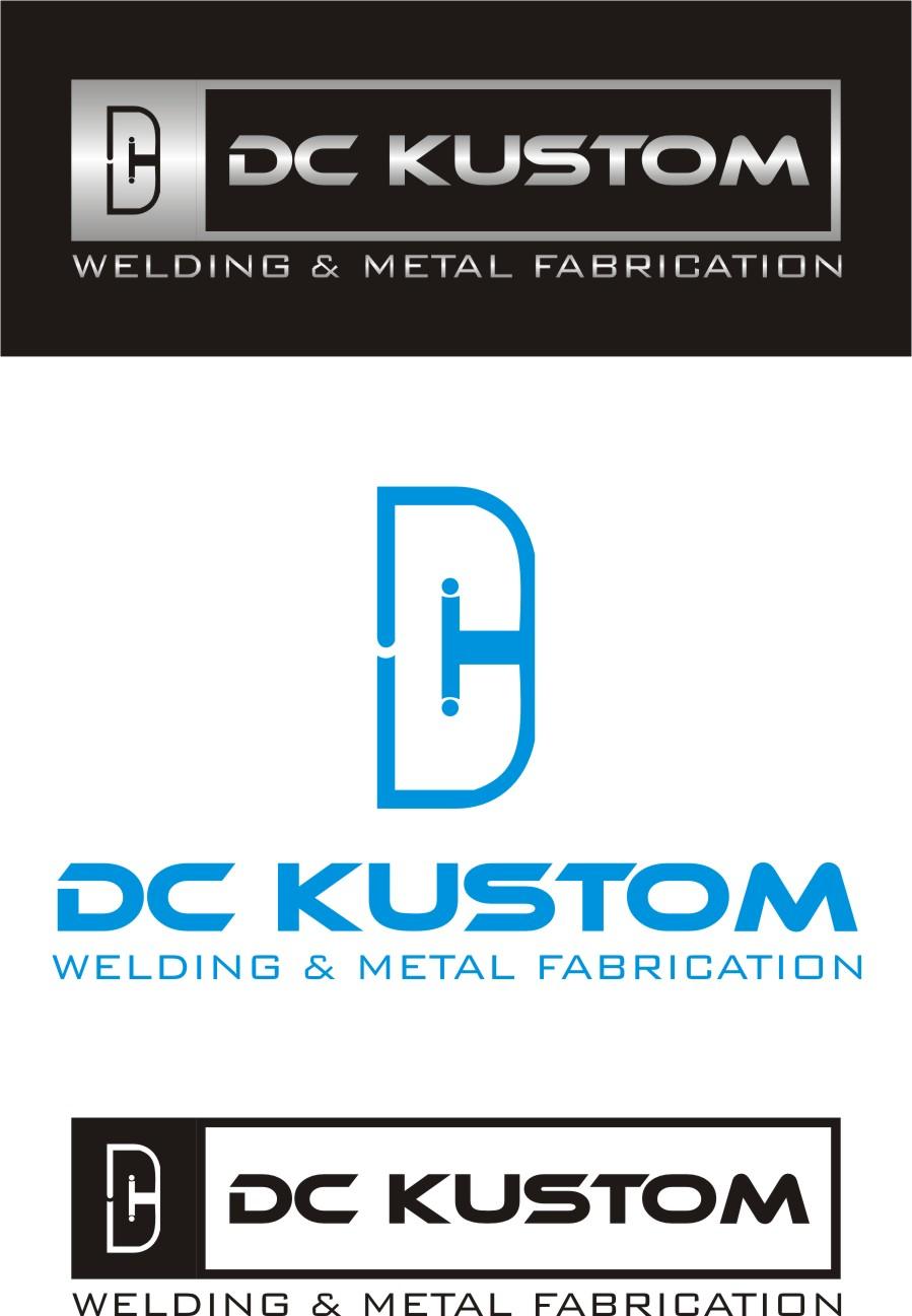 Logo Design by Fire City - Entry No. 149 in the Logo Design Contest Imaginative Logo Design for DC KUSTOM WELDING & METAL FABRICATION.
