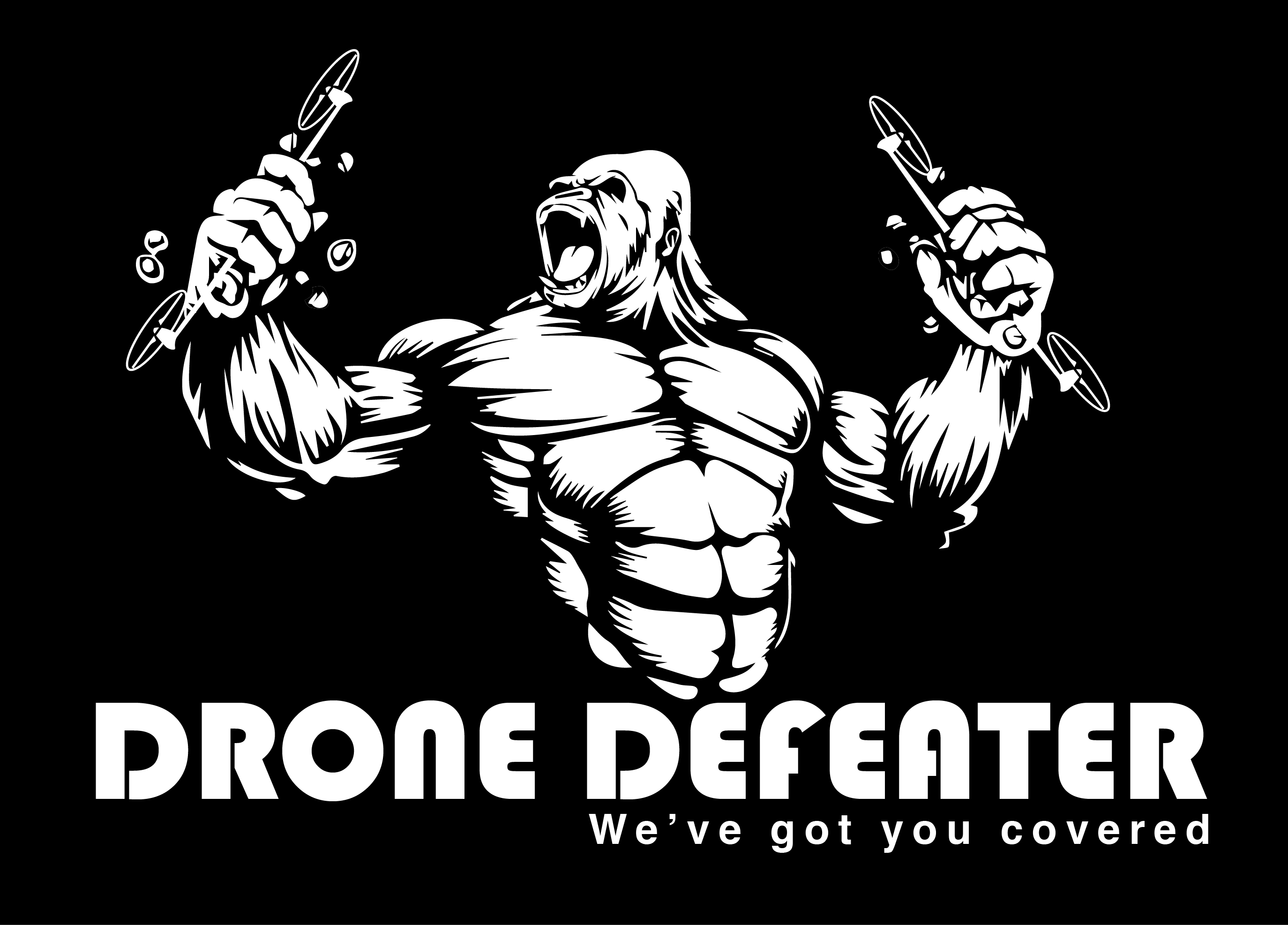 Logo Design by Rob King - Entry No. 34 in the Logo Design Contest Artistic Logo Design for Drone Defeater.