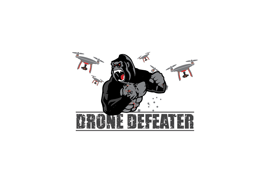 Logo Design by pojas12 - Entry No. 36 in the Logo Design Contest Artistic Logo Design for Drone Defeater.