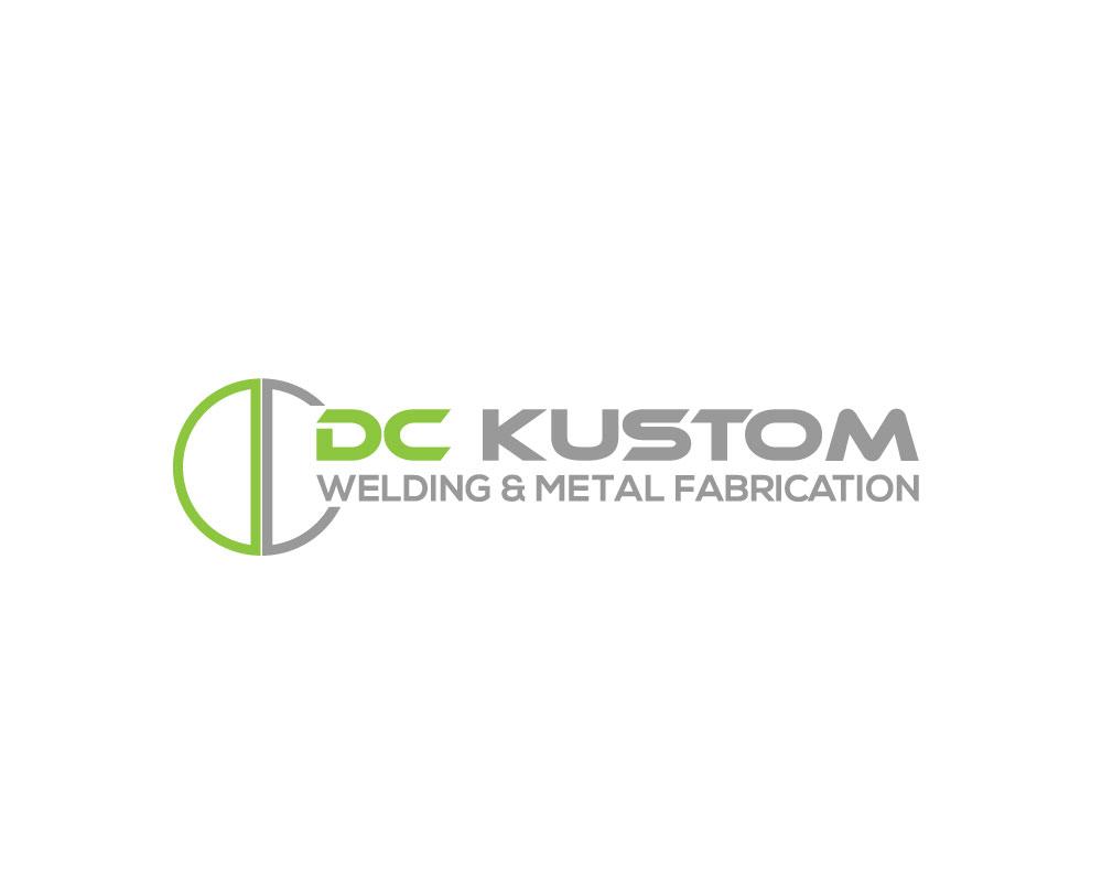 Logo Design by Mohammad azad Hossain - Entry No. 155 in the Logo Design Contest Imaginative Logo Design for DC KUSTOM WELDING & METAL FABRICATION.