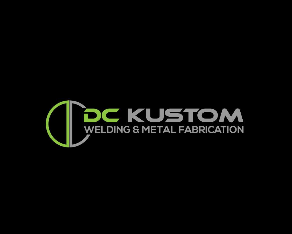 Logo Design by Mohammad azad Hossain - Entry No. 156 in the Logo Design Contest Imaginative Logo Design for DC KUSTOM WELDING & METAL FABRICATION.