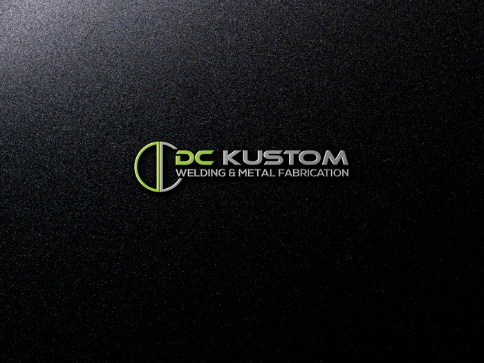 Logo Design by Mohammad azad Hossain - Entry No. 159 in the Logo Design Contest Imaginative Logo Design for DC KUSTOM WELDING & METAL FABRICATION.