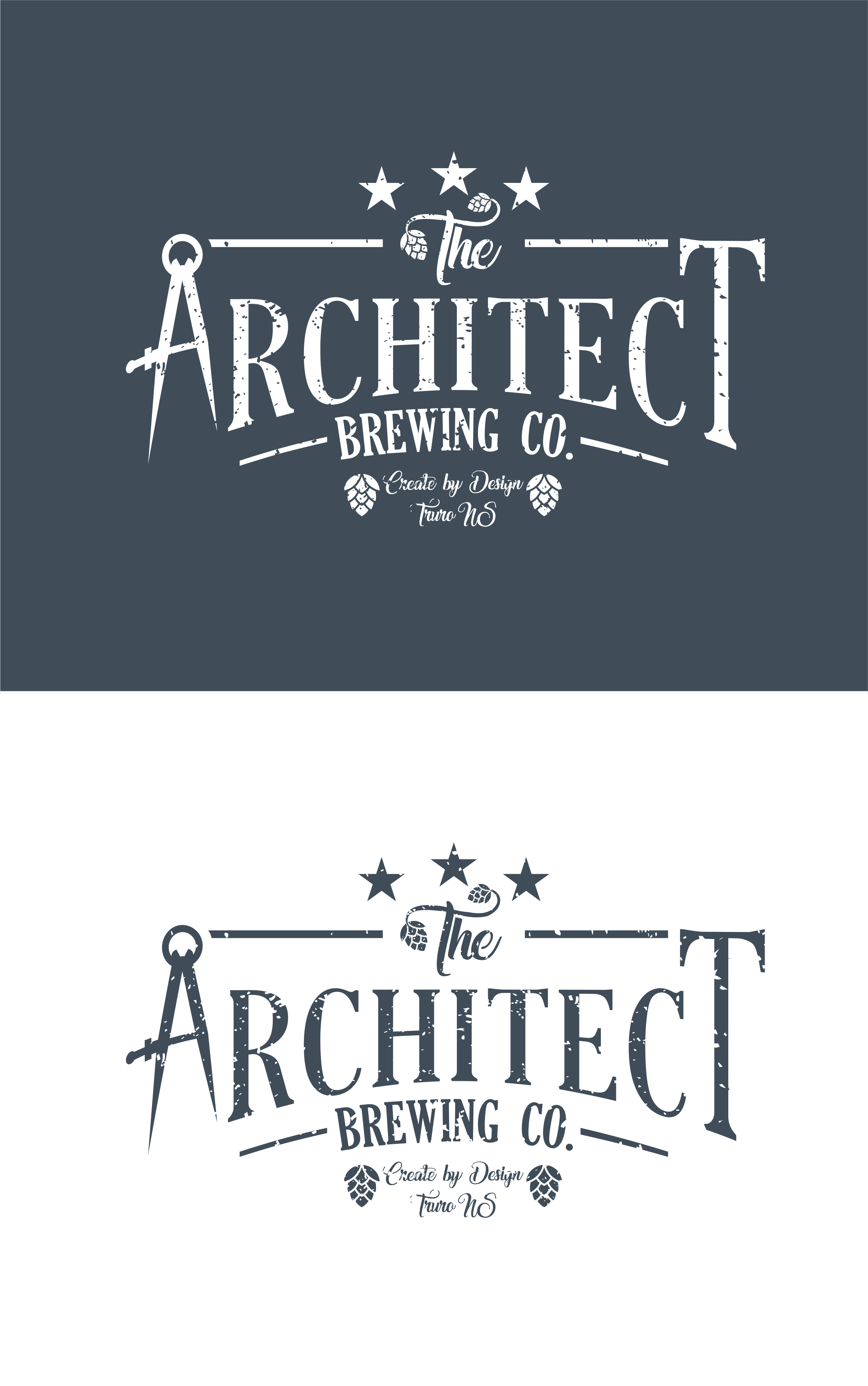 Logo Design by Net Bih - Entry No. 111 in the Logo Design Contest Captivating Logo Design for The Architect Brewing Co..
