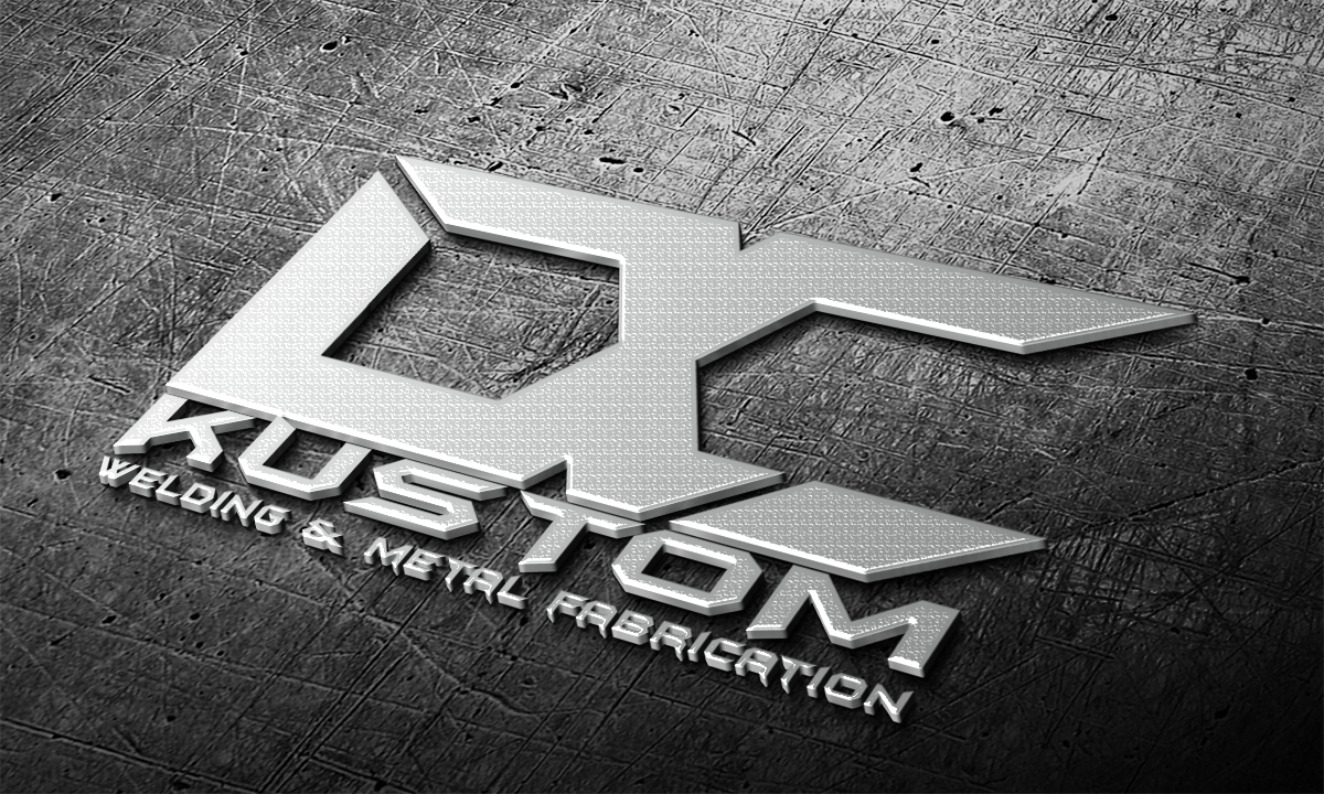 Logo Design by Julboy Salupan - Entry No. 162 in the Logo Design Contest Imaginative Logo Design for DC KUSTOM WELDING & METAL FABRICATION.