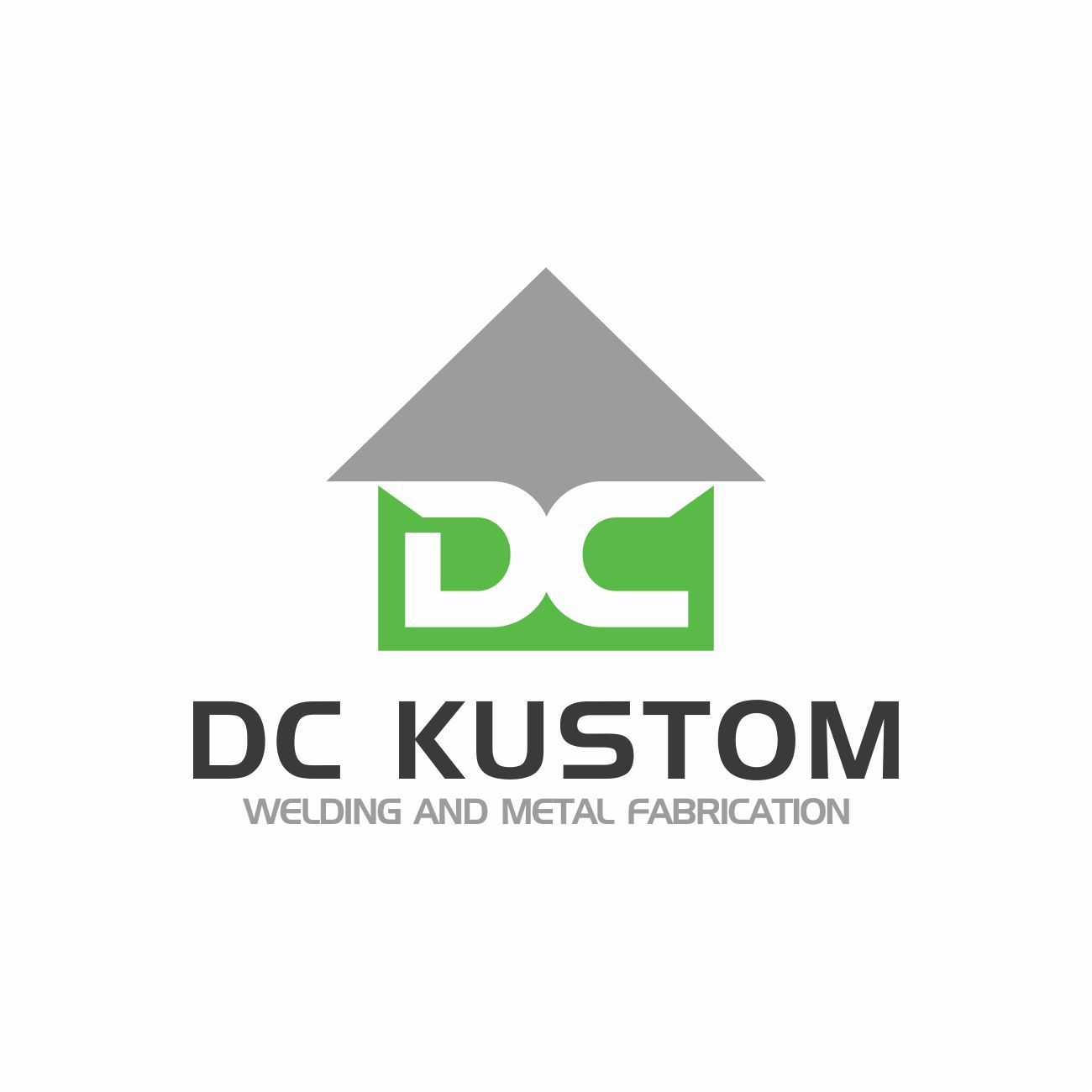 Logo Design by RasYa Muhammad Athaya - Entry No. 167 in the Logo Design Contest Imaginative Logo Design for DC KUSTOM WELDING & METAL FABRICATION.